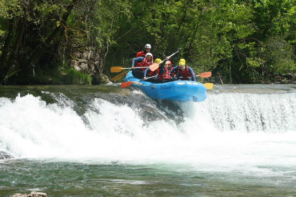 Rafting en Asturias para saciar tu espíritu extremo