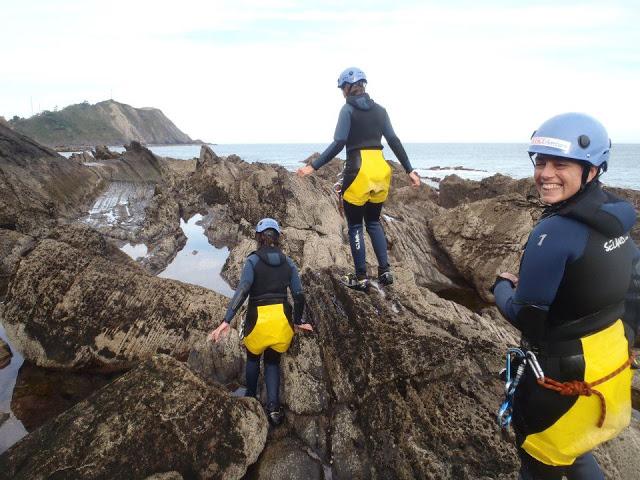 Coasteering Asturias