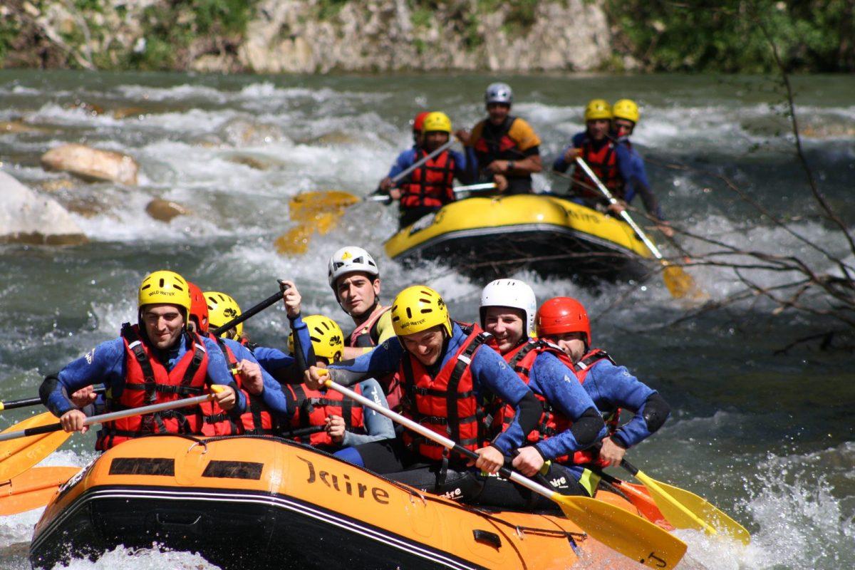 ¿Qué es canoa raft?